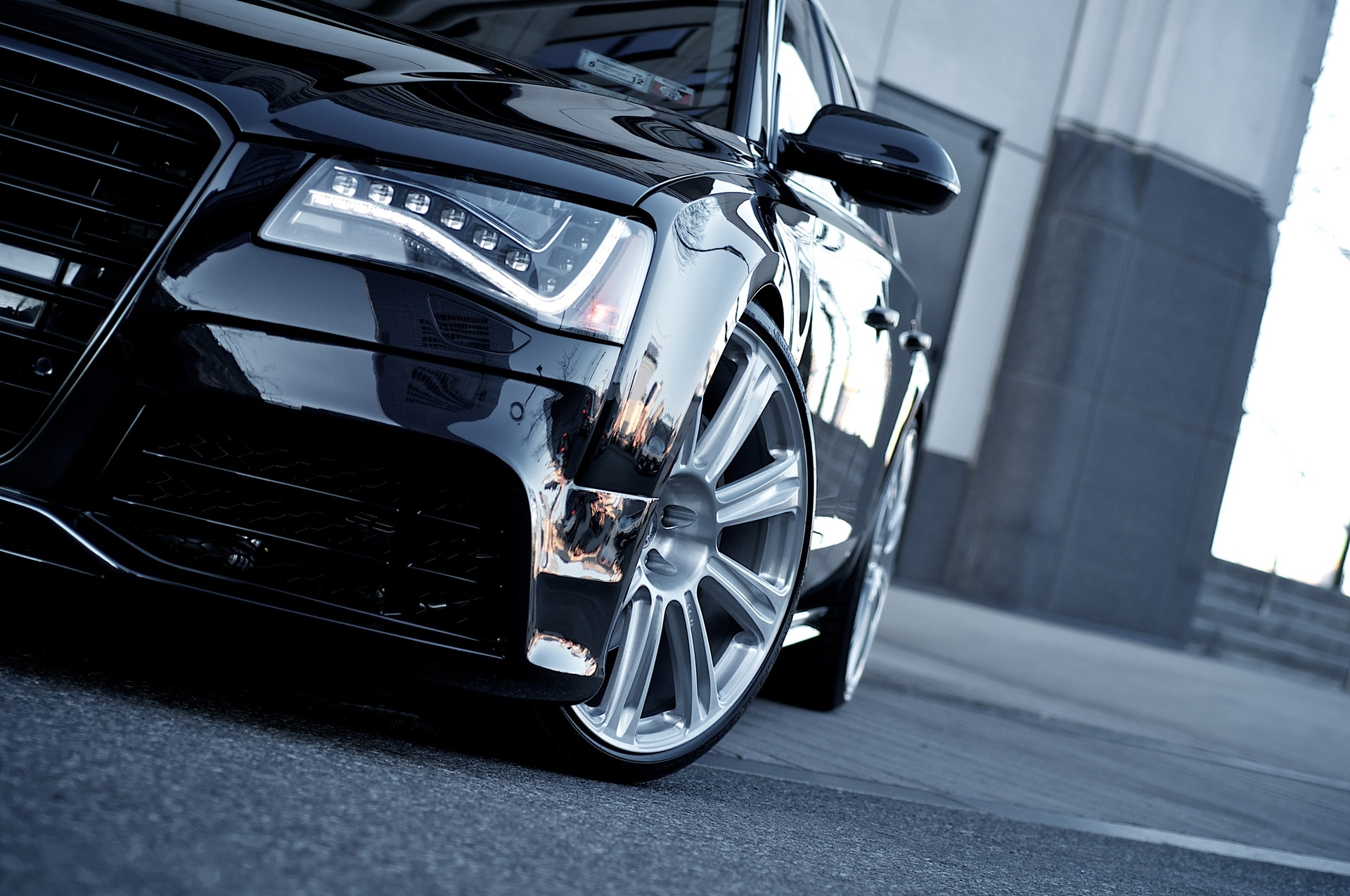 Audi-A8-Black-Car-Tuning-hd-wallpapers-closeup